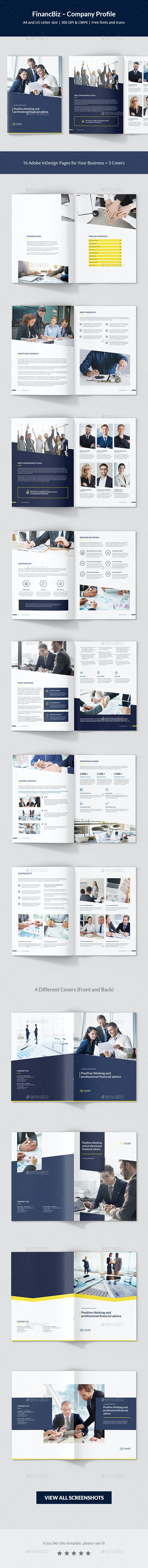 FinancBiz – Company Profile - Corporate Brochures