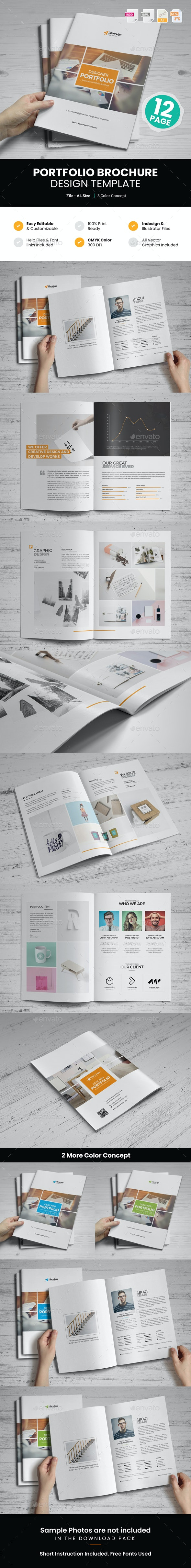 Portfolio Brochure Design v5 - Corporate Brochures