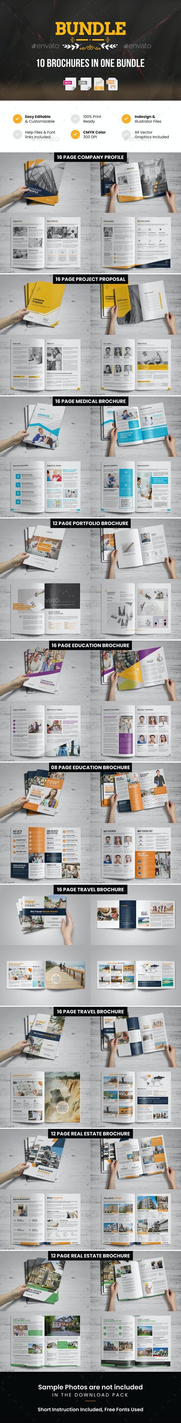 Summer Brochure Bundle - Corporate Brochures