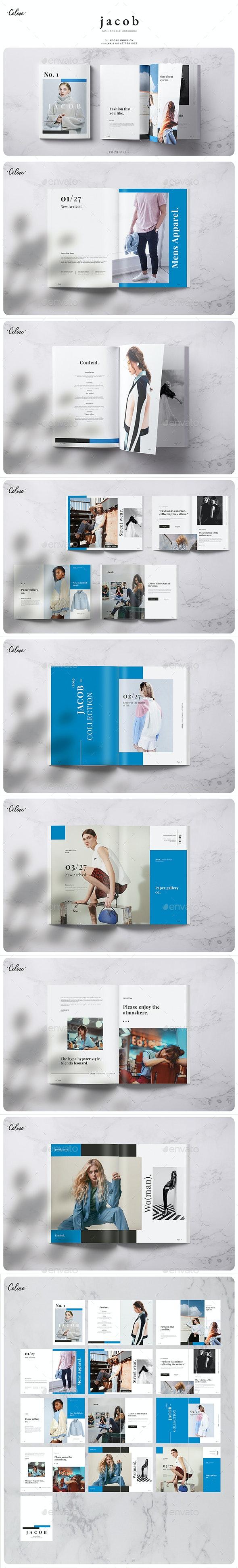 Jacob - Fashionable Lookbook - Magazines Print Templates