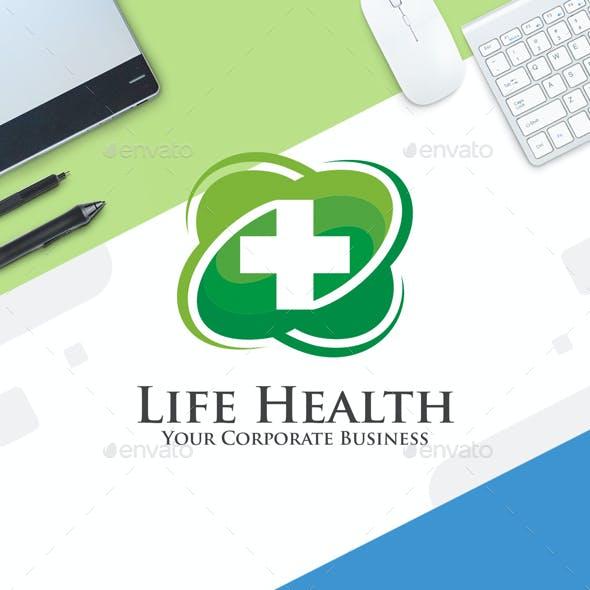 Health Logo Template - Life Health