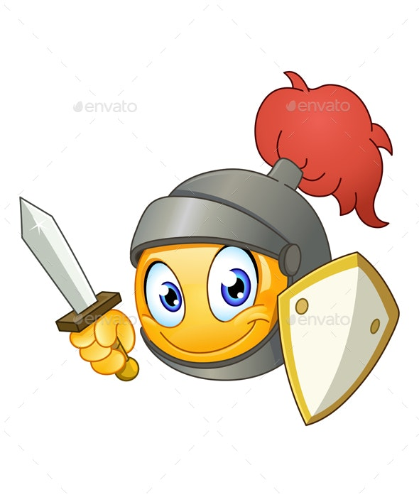 Knight Emoticon - People Characters