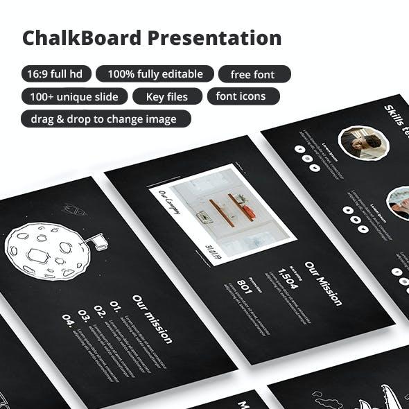 Chalk Board Presentation