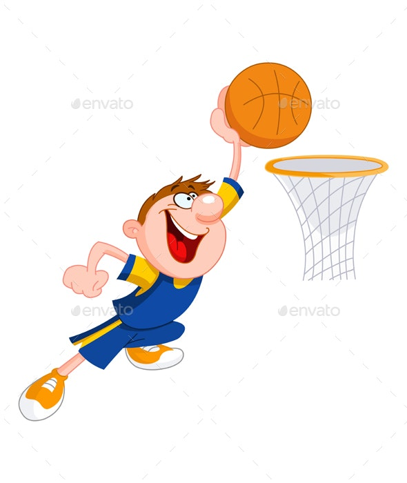 Basketball Kid - Sports/Activity Conceptual