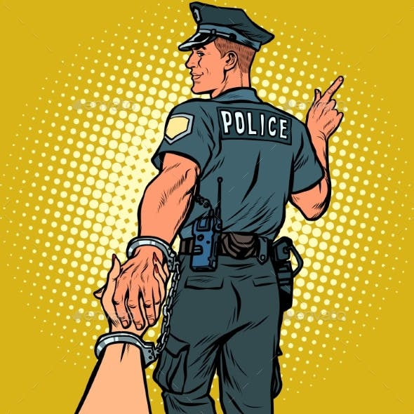 Follow Me Police Officer Arrested Woman