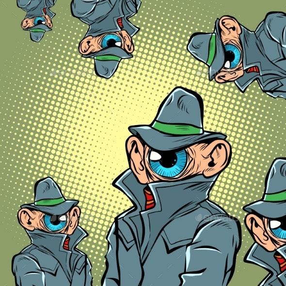 Spy Eye Surveillance - Miscellaneous Vectors