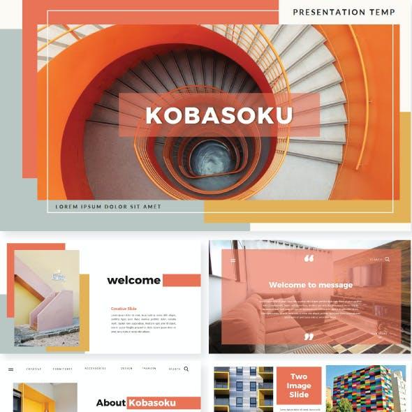 Kobasoku Keynote Template