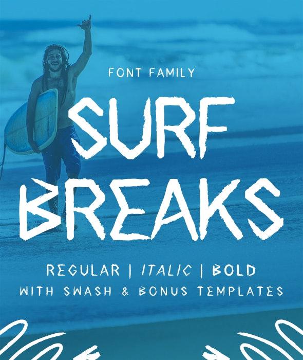 Surf Breaks - Condensed Sans-Serif