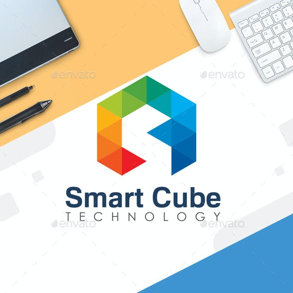 Digital Logo Template - Smart Cube