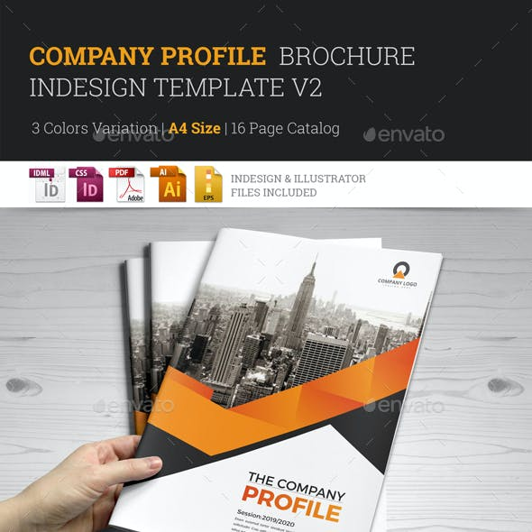 Company Profile Brochure Template v2