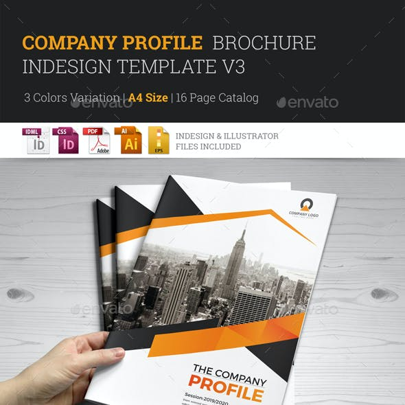 Company Profile Brochure Template v3