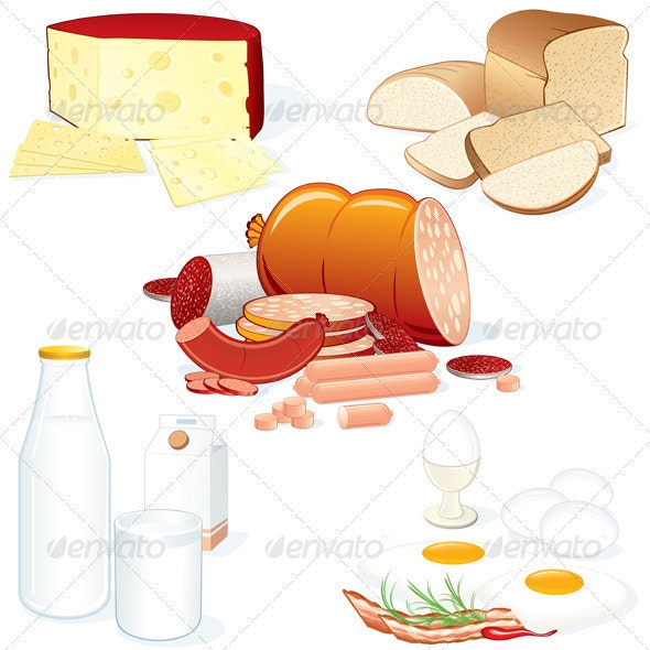 Various Food - Food Objects