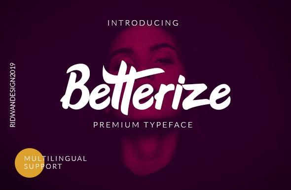 Betterize Scrpt - Hand-writing Script