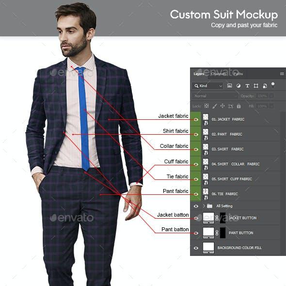 Custom Suit Mockup