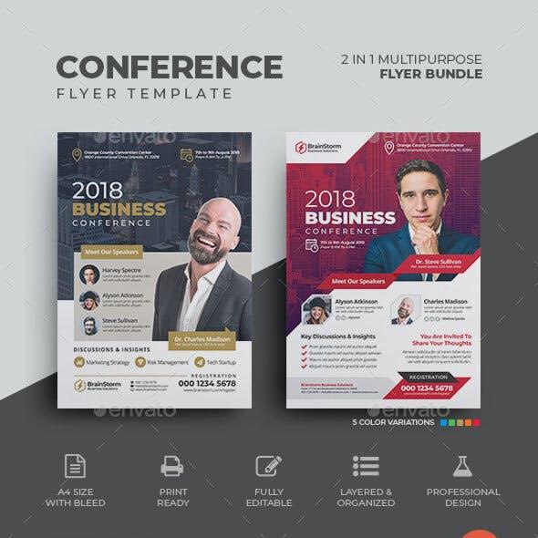 Conference Flyer Bundle