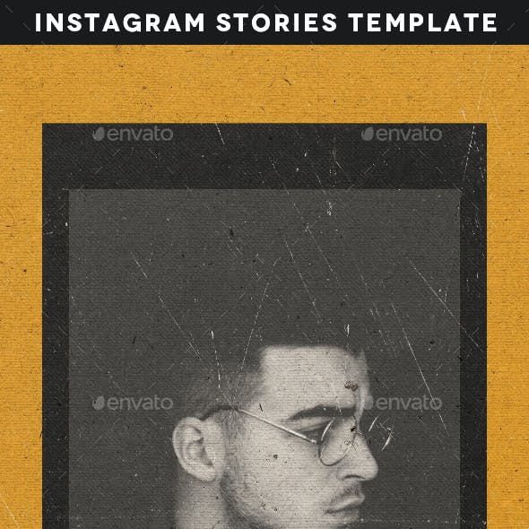 Creative Animated Instagram Stories Template