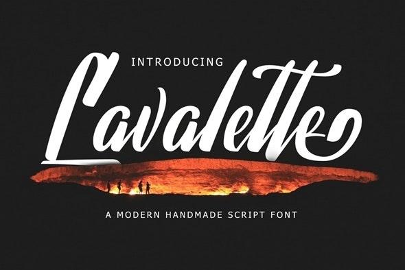 Lavalette Script - Script Fonts