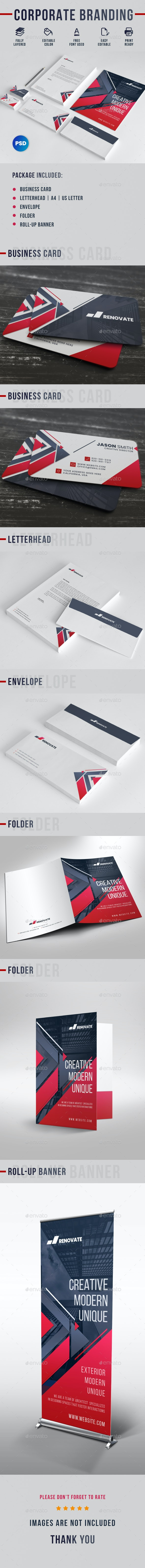 Corporate Branding - Stationery Print Templates