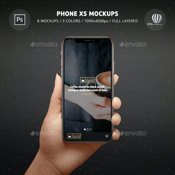 Phone XS Mockups