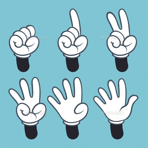 Hand Numbers - Miscellaneous Vectors