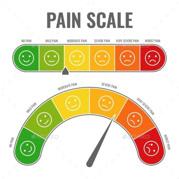 Pain Scale - Health/Medicine Conceptual