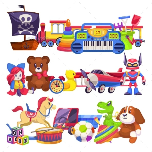 Toy Piles - Animals Characters