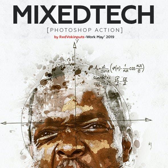 Mixed Tech Photoshop Action