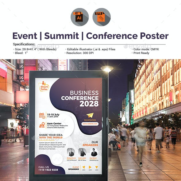 Conference / Event Poster Template
