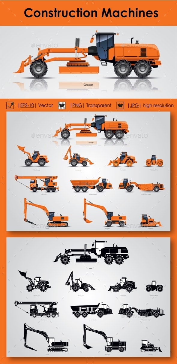 Construction Machines - Industries Business