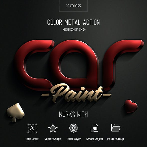 Car Paint - Photoshop Action
