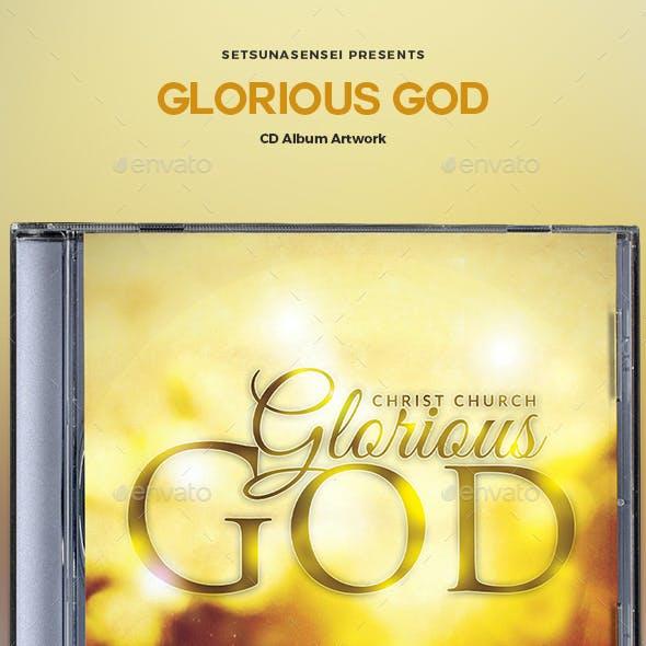 Glorious God CD Album Artwork