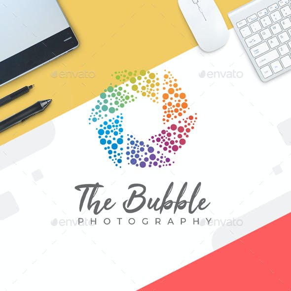 Photography Logo Template - BubbleDance Photography