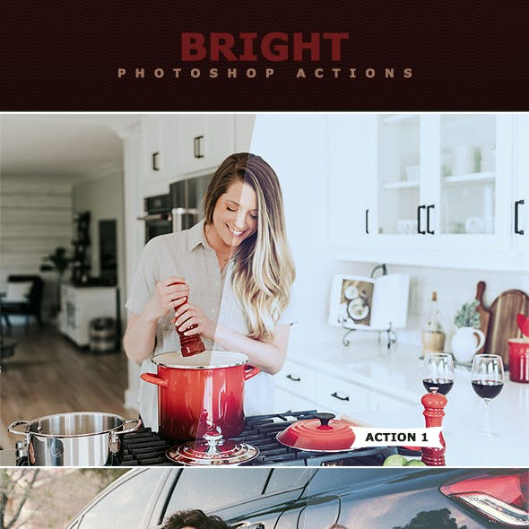 Bright Photoshop Actions