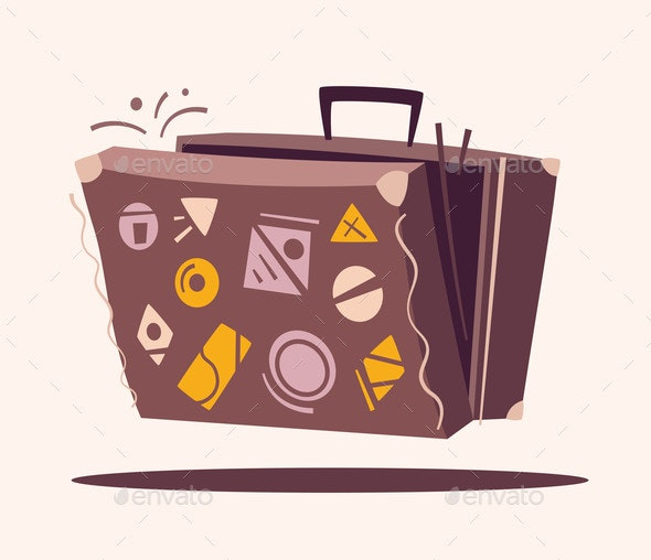 Luggage for Travel - Travel Conceptual