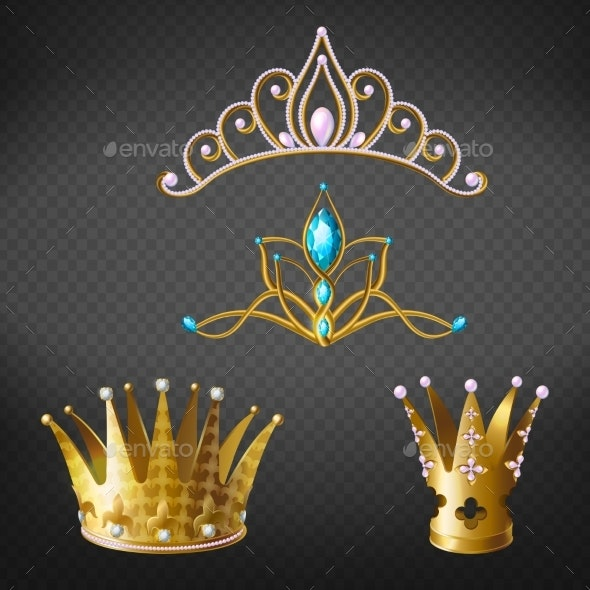 Crown or Tiara - Man-made Objects Objects