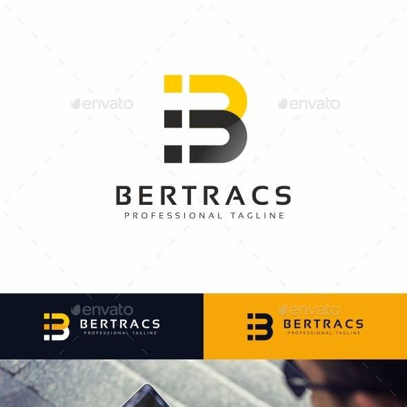 Bertracs - B Letter Logo