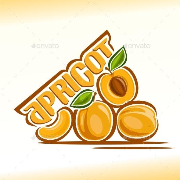 Vector Logo for Apricot - Miscellaneous Vectors