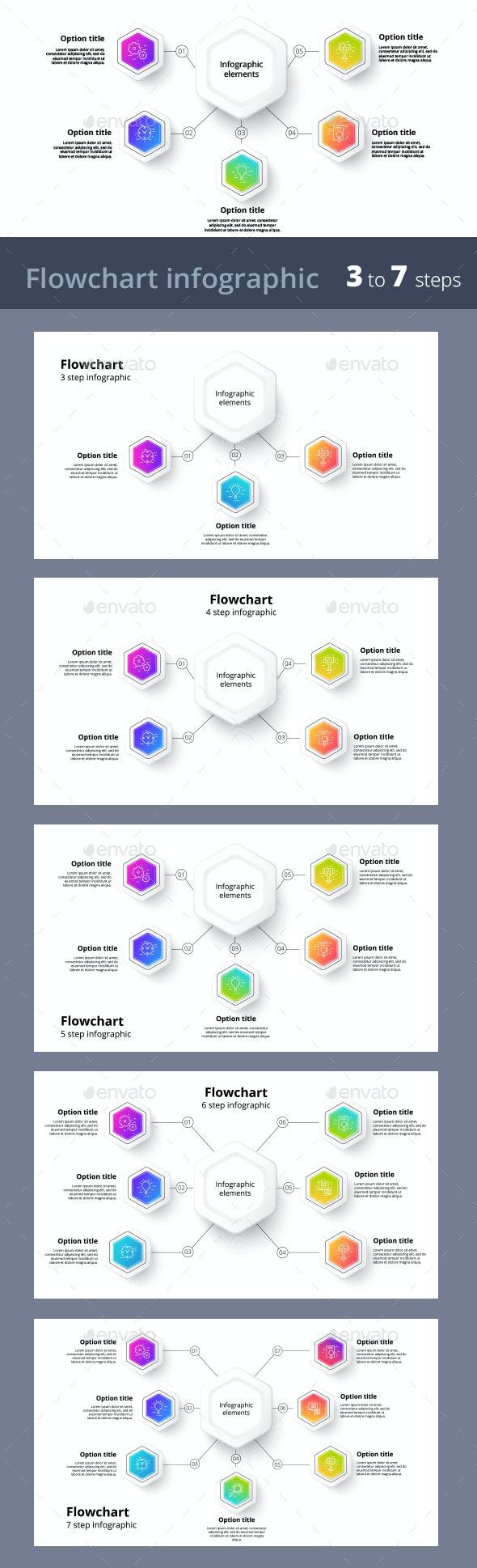 3-7 Step Infographics - Infographics