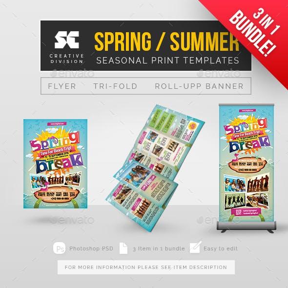 3 + 1 Summer Spring Bundle