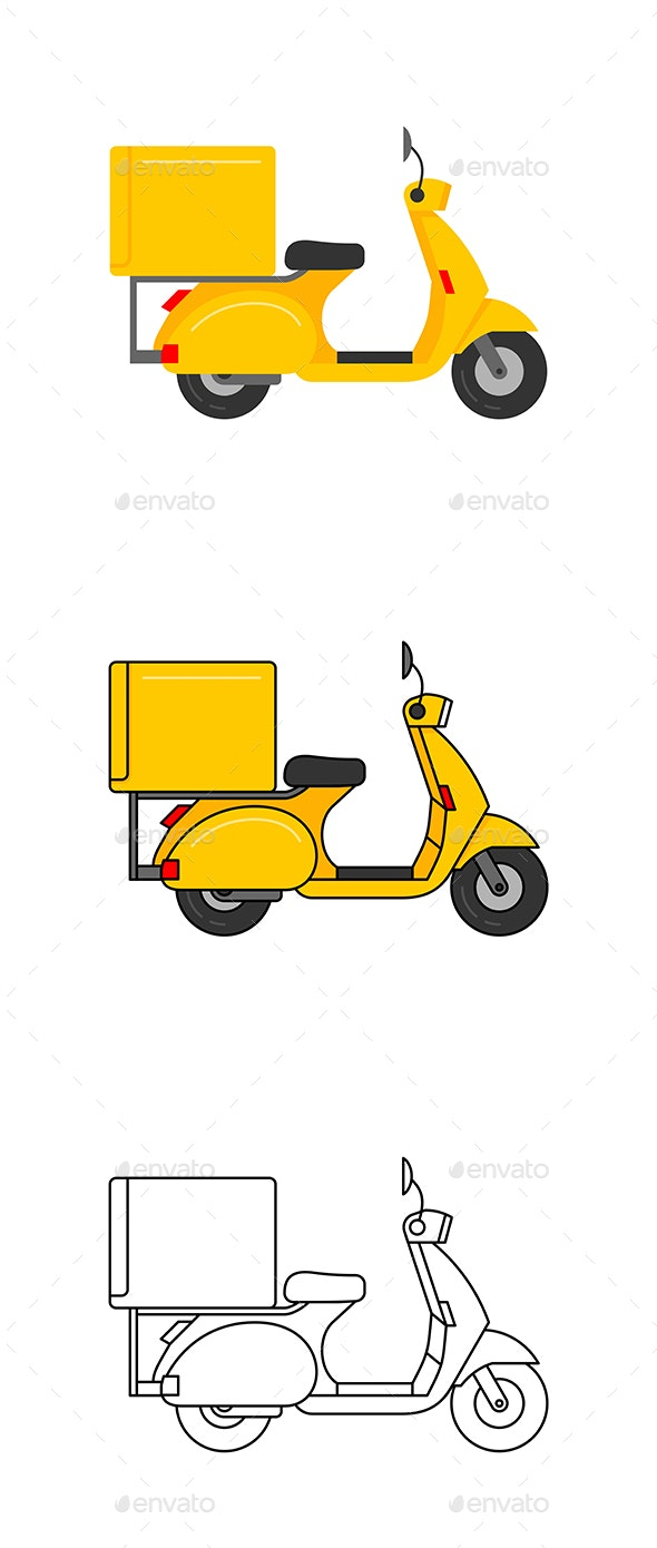 Scooter Courier - Services Commercial / Shopping