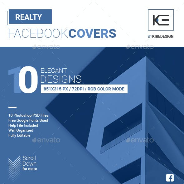10 Realty Facebook Covers