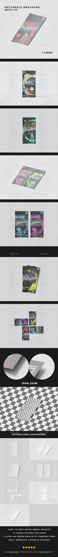 Matte Rectangle Brochure Mock-up - Brochures Print