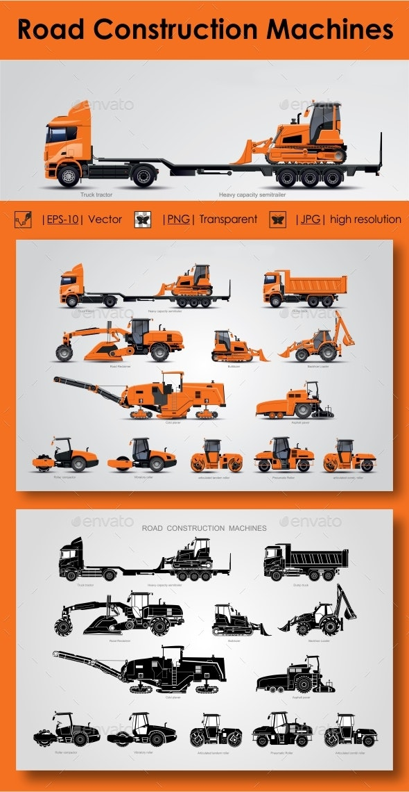 Road Construction Machines - Industries Business