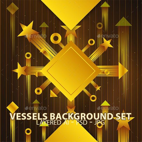 Vessels Background Set