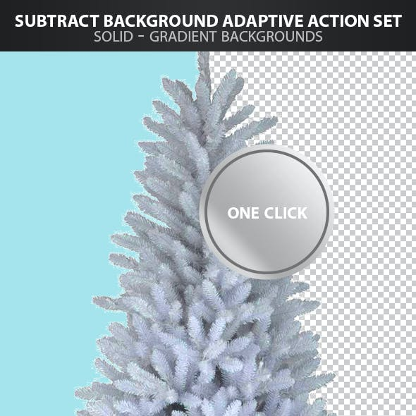 Subtract Background Adaptive Action