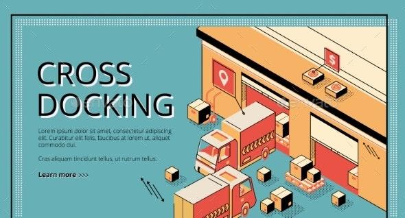 Cross Docking Transportation Logistics Service - Industries Business