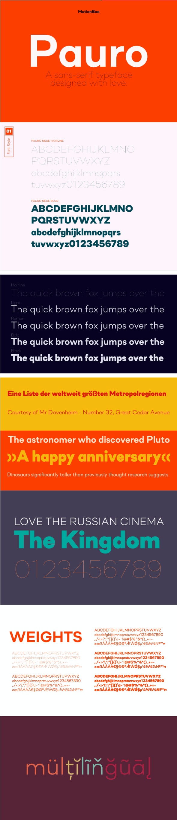 Pauro Neue Sans - Miscellaneous Sans-Serif