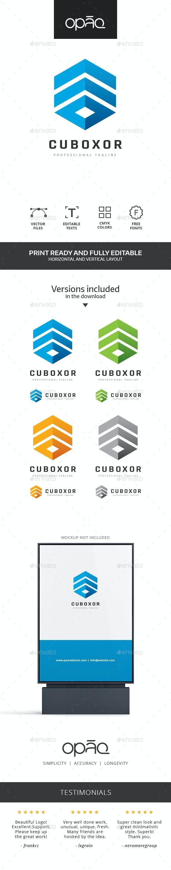 Open Stack Cube Logo - Symbols Logo Templates