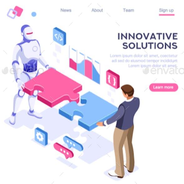 Partnership Contact Concept