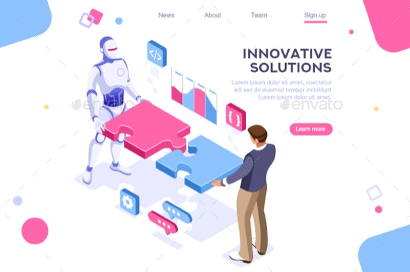 Partnership Contact Concept - Concepts Business